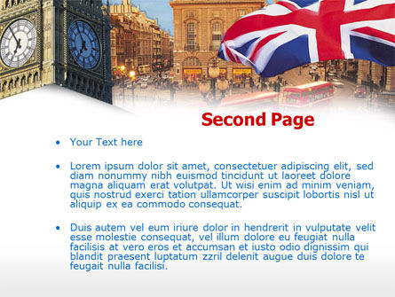 London PowerPoint Template, Slide 2, 00255, Flags/International — PoweredTemplate.com