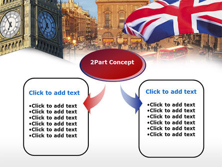 London PowerPoint Template, Slide 4, 00255, Flags/International — PoweredTemplate.com