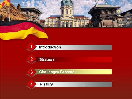 Berlin PowerPoint Template, Slide 3, 00256, Flags/International — PoweredTemplate.com