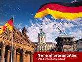 Flags/International: Berlin PowerPoint Template #00256