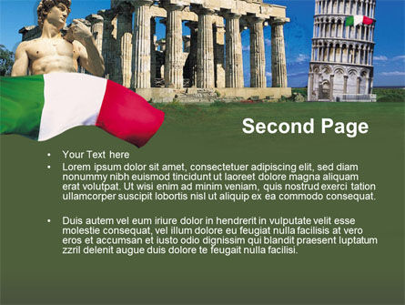 Italy PowerPoint Template Slide 2