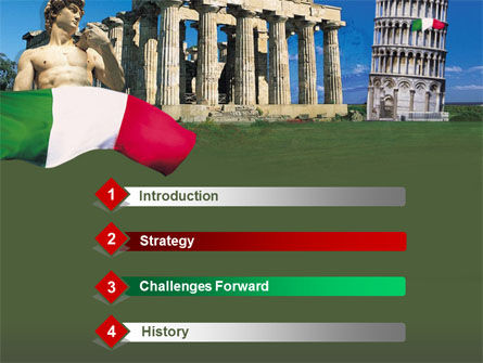 Italy PowerPoint Template Slide 3