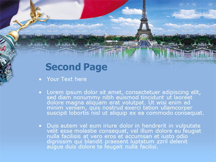 France PowerPoint Template, Slide 2, 00258, Flags/International — PoweredTemplate.com