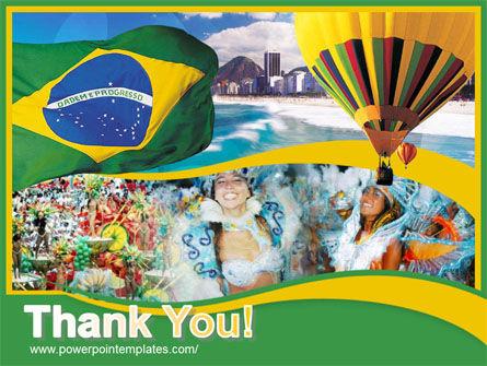 Brazil PowerPoint Template Slide 20
