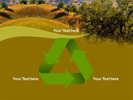 Landscape Hills PowerPoint Template Slide 10