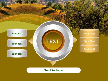 Landscape Hills PowerPoint Template Slide 12