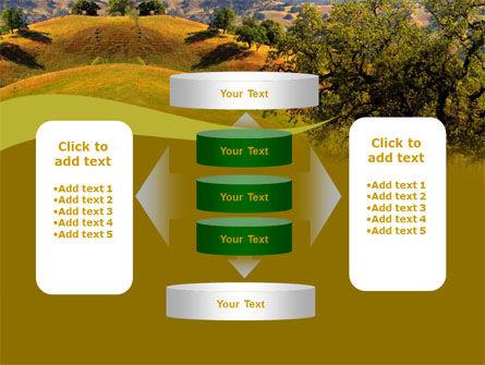 Landscape Hills PowerPoint Template Slide 13
