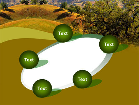 Landscape Hills PowerPoint Template Slide 14