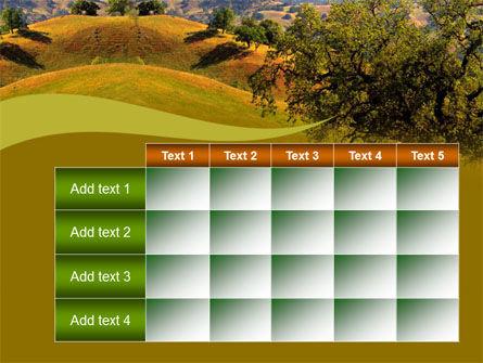 Landscape Hills PowerPoint Template Slide 15