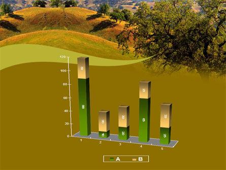 Landscape Hills PowerPoint Template Slide 17