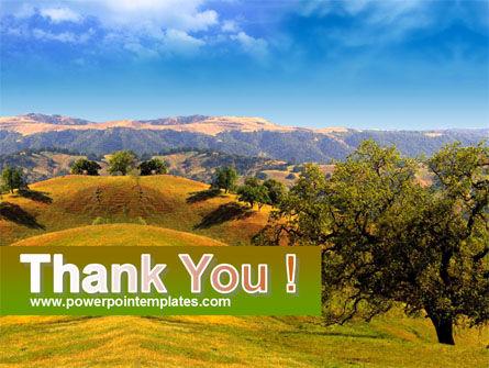 Landscape Hills PowerPoint Template Slide 20