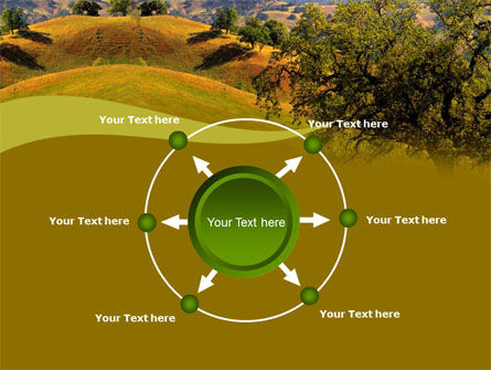 Landscape Hills PowerPoint Template Slide 7