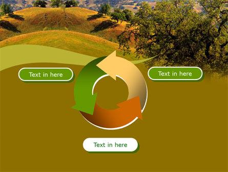 Landscape Hills PowerPoint Template Slide 9