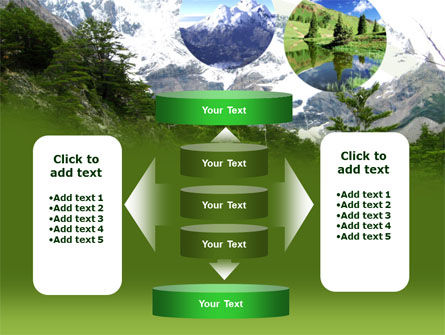 Mountains PowerPoint Template Slide 13