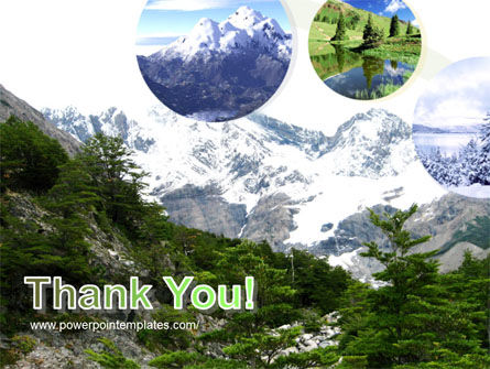 Mountains PowerPoint Template Slide 20