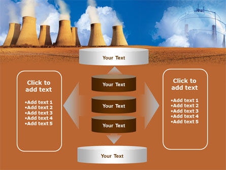 Thermoelectric Power Station PowerPoint Template Slide 13