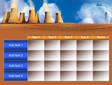 Thermoelectric Power Station PowerPoint Template Slide 15