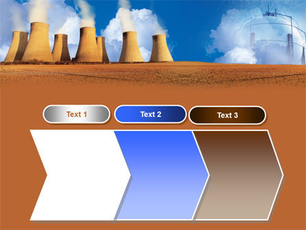Thermoelectric Power Station PowerPoint Template Slide 16