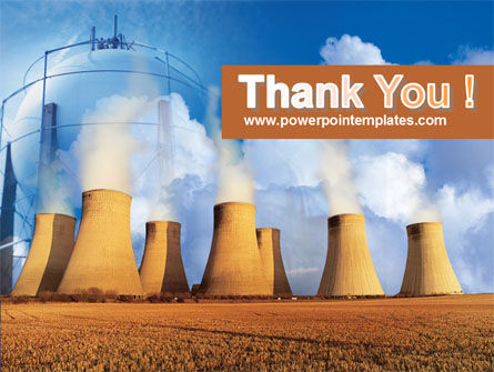 Thermoelectric Power Station PowerPoint Template Slide 20