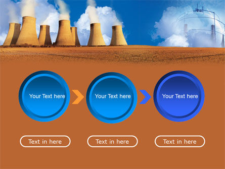 Thermoelectric Power Station PowerPoint Template Slide 5