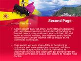 Spain PowerPoint Template#2