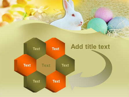 Easter Bunny PowerPoint Template Slide 11