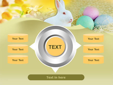 Easter Bunny PowerPoint Template Slide 12
