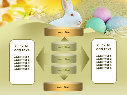 Easter Bunny PowerPoint Template Slide 13