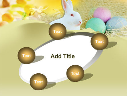 Easter Bunny PowerPoint Template Slide 14