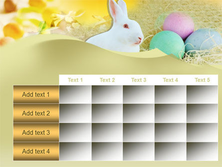 Easter Bunny PowerPoint Template Slide 15