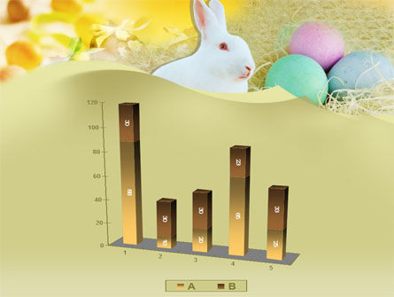 Easter Bunny PowerPoint Template Slide 17