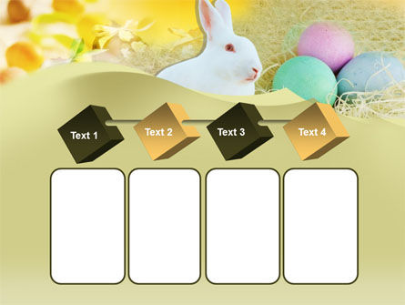 Easter Bunny PowerPoint Template Slide 18