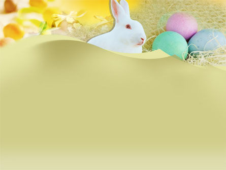 Easter Bunny PowerPoint Template Slide 2
