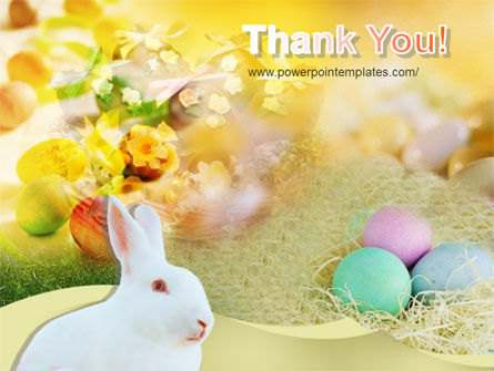 Easter Bunny PowerPoint Template Slide 20