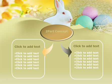 Easter Bunny PowerPoint Template, Slide 4, 00264, Holiday/Special Occasion — PoweredTemplate.com