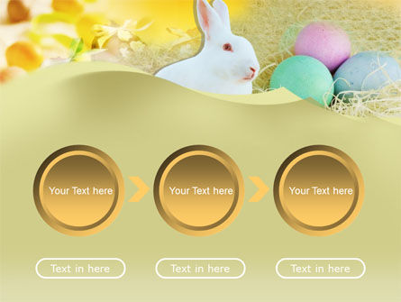 Easter Bunny PowerPoint Template Slide 5