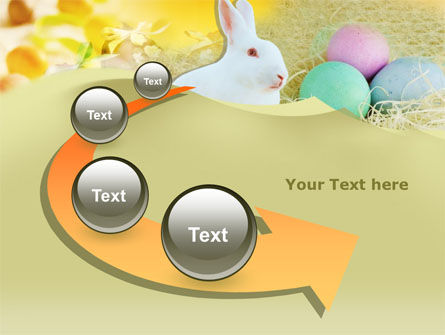 Easter Bunny PowerPoint Template Slide 6
