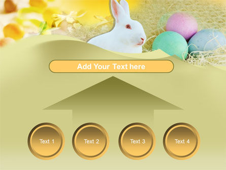 Easter Bunny PowerPoint Template Slide 8