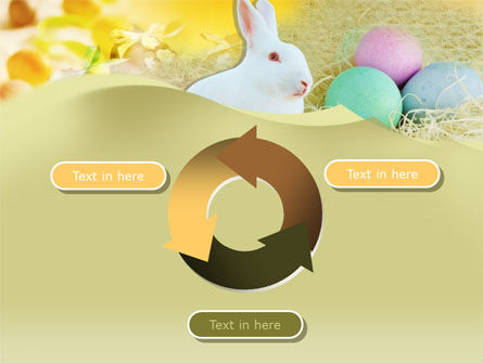 Easter Bunny PowerPoint Template Slide 9