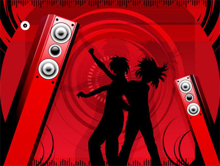 Art & Entertainment: Party PowerPoint Template #00265