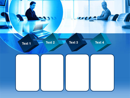 Business Negotiation In Aqua Colors PowerPoint Template Slide 18