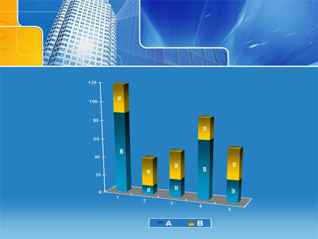 Sparkling Skyscraper PowerPoint Template Slide 17