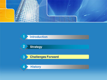 Sparkling Skyscraper PowerPoint Template Slide 3