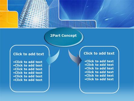 Sparkling Skyscraper PowerPoint Template, Slide 4, 00268, Business Concepts — PoweredTemplate.com