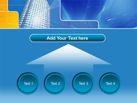 Sparkling Skyscraper PowerPoint Template Slide 8