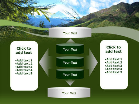 Mountain Valley PowerPoint Template Slide 13