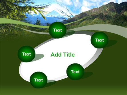Mountain Valley PowerPoint Template Slide 14