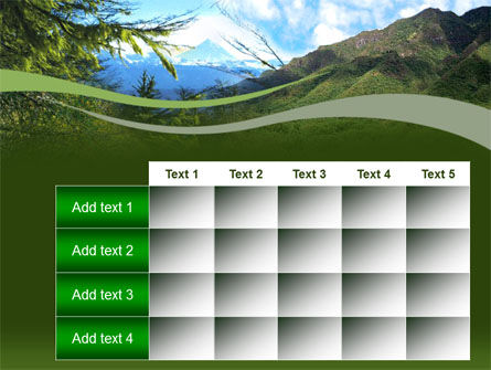 Mountain Valley PowerPoint Template Slide 15