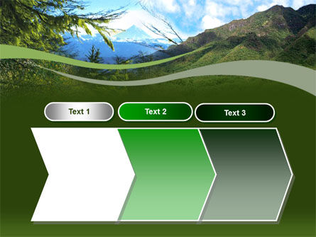 Mountain Valley PowerPoint Template Slide 16