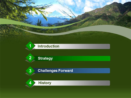 Mountain Valley PowerPoint Template Slide 3